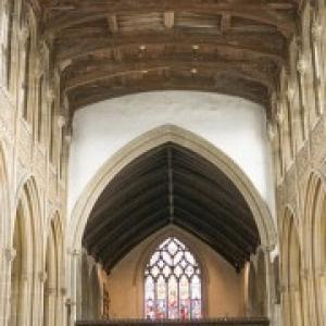 church nave and roof